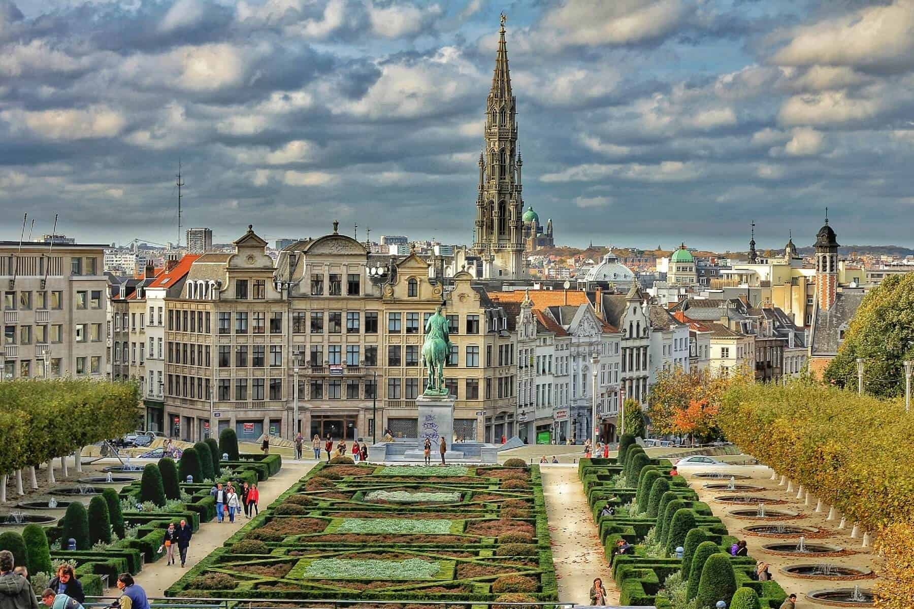 Brussels highlight view
